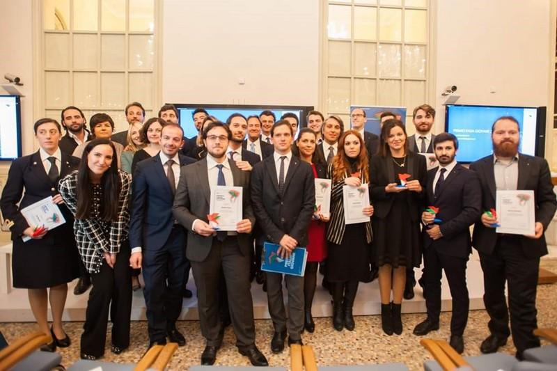 Alessio Arena riceve il Premio Italia Giovane a Roma