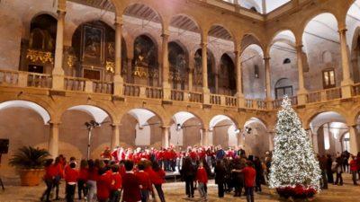 Il coro Alberico Gentili e il prof. Cascino, Referenceopost