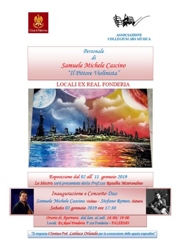 Samuele Michele Cascino, Il concerto, Referencepost