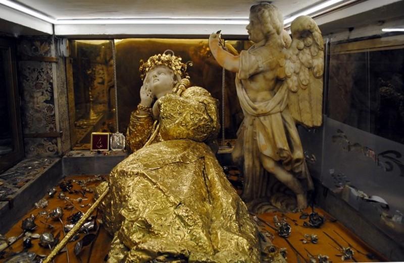 Santa Rosalia e gli angeli