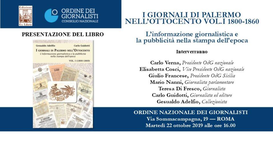 I giornali dell'Ottocento, Edizioni Ex Libris. Carlo Guidotti